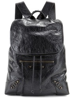 Balenciaga Giant Traveller leather backpack