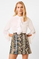 French Connection Elna Light Ruffle Shirt