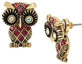 Betsey Johnson Owl Front/Back Earrings
