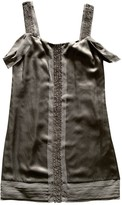 Juicy Couture Grey Silk Dress for Women