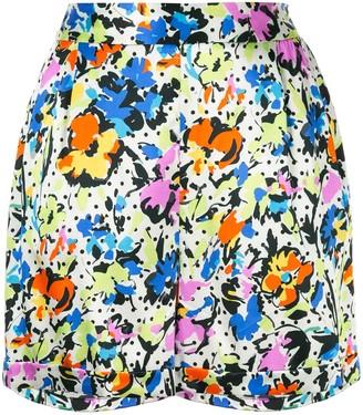 Lelloue Tailored Silk Shorts