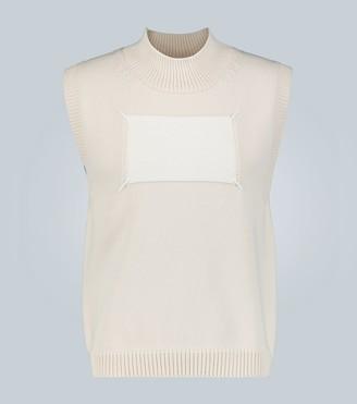Maison Margiela Memory Of label sleeveless sweater