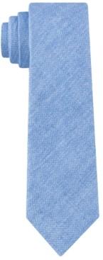 Calvin Klein Men's Printed Denim Tie