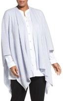 Eileen Fisher Rib Knit Serape