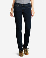 Eddie Bauer Women's Slightly Curvy Straight Leg Jeans - StayShape®