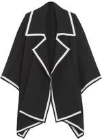 Burberry Wool-blend Cape - Black