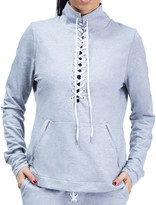 N. Urban Savage Lace-Up Active Pullover