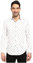 Robert Graham Men's Davide Long Sleeve Woven Shirt Shirt