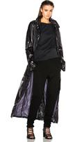Ann Demeulemeester Hooded Rain Coat