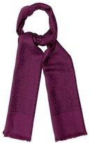 Salvatore Ferragamo Silk & Wool-Blend Scarf