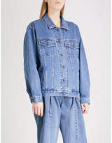 Ksenia Schnaider Sample not For Sale denim jacket