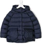 Il Gufo hooded padded jacket