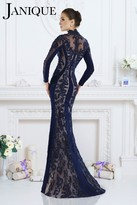Janique - 7519 Dress In Navy