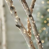 Crate & Barrel Twinkle Silver String Lights