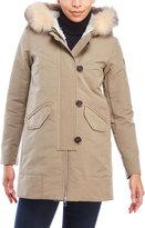 Peuterey Loftus Real Fur Trim Hooded Coat