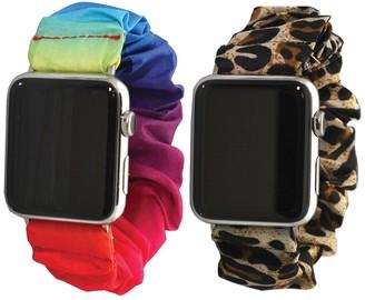 Olivia Pratt Scrunchie Apple Band - Pack of 2