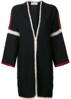 Masscob oversized open coat