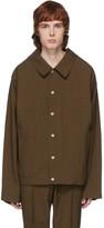 Maison Margiela Brown Super Bleach 80s Jacket