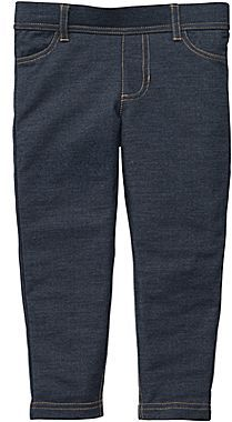 Carter's Carter's® Denim French Terry Pants - Girls 5-6x