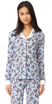 Cosabella Paul & Joe x Isabelle Printed Long Sleeve PJ Top