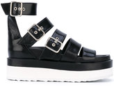 Pierre Hardy platform strappy sandals - women - Leather/rubber - 36