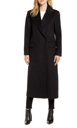 Kristen Blake Double Breasted Maxi Coat