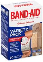 Johnson & Johnson Band-Aid® 30-Count Adhesive Bandages Assorted Variety Pack