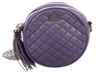 Dolce & Gabbana Quilted Circle Shoulder Bag