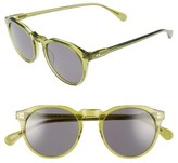 Raen Men's Remmy 49Mm Polarized Sunglasses - Green Crystal