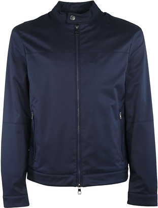 Michael Kors Moto Twill Jacket
