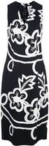 Carolina Herrera floral print sheath dress
