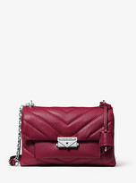 Michael Kors Cece Medium Quilted Leather Convertible Shoulder Bag