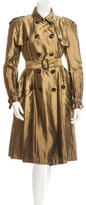 Burberry Silk Trench Coat