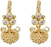 Temple St. Clair 18K Yellow Gold Mini Pod Drop Earrings with Diamonds