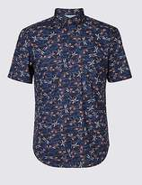 Limited Edition Pure Cotton Dragonfly Print Shirt