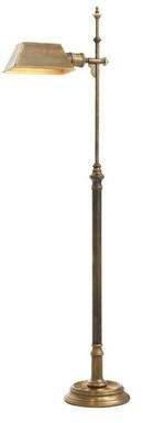 """Eichholtz Charlene 51"""" Task Floor Lamp Base Color: Vintage Brass"""