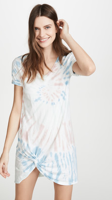 Z Supply Tie Dye Side Knot Dress