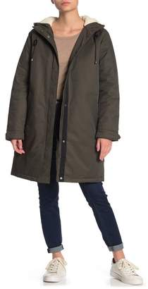 Levi's Faux Shearling Lined Hooded Parka