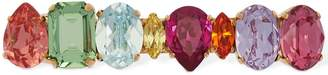 Shourouk Mini Dynasty Multicolor Crystal Hairclip