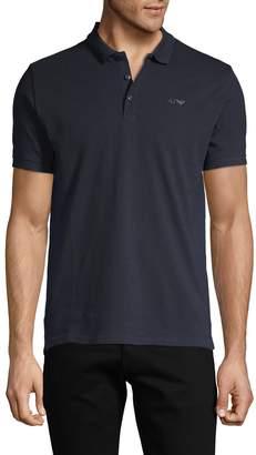 Armani Jeans Logo Cotton Polo