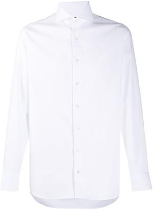 Lardini Pointed Collar Cotton Shirt