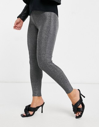Vila leggings in silver