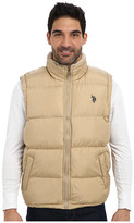U.S. Polo Assn. Signature Vest w/ Sherpa Collar