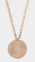 Sunbeam Zoe Chicco 14k Gold Medium Medallion Necklace