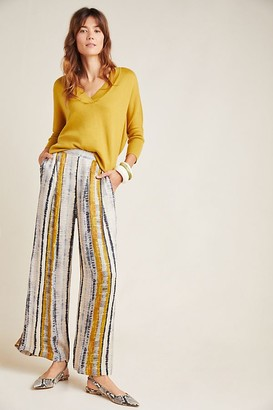 Conditions Apply Nell High-Rise Wide-Leg Trousers