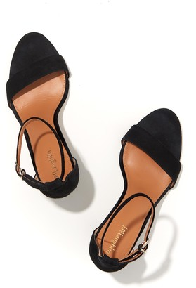 J.Mclaughlin Madison Suede Ankle Strap Heel