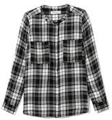 Vince Camuto Two by Check Utility Shirt