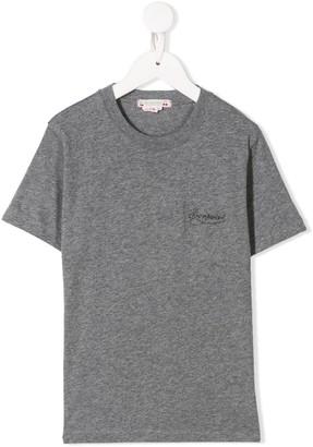 Bonpoint metallic chest logo T-shirt