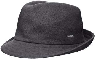Kangol Unisex-Adults Wool Arnold Fedora Hat