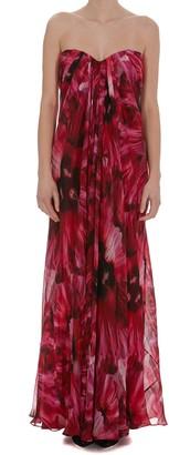 Alexander McQueen Exotic Radial Dress